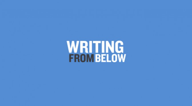 writing from below