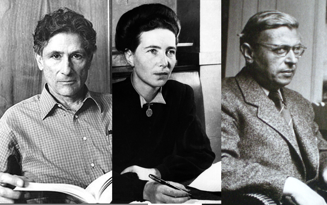 sartre said and beauvoir