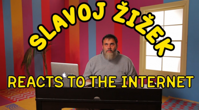 zizek reacts to the internet