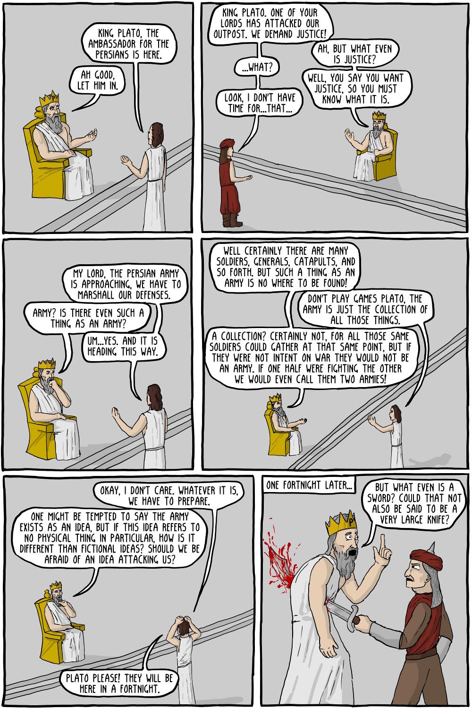 the thinker queen plato documents online