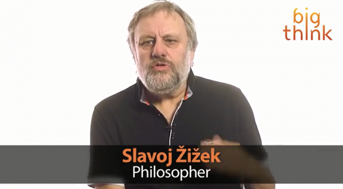 Watch Slavoj Zizek Explain an Event with Kafka and Love