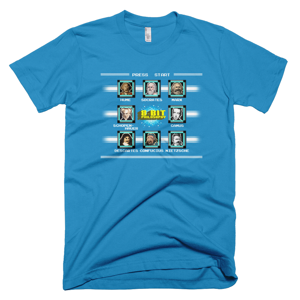 8-bit philosophy shirt