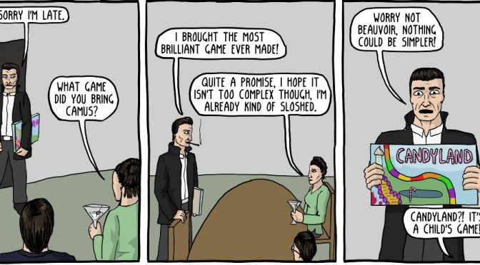Camus Explained Perfectly with Candy Land [Comic]
