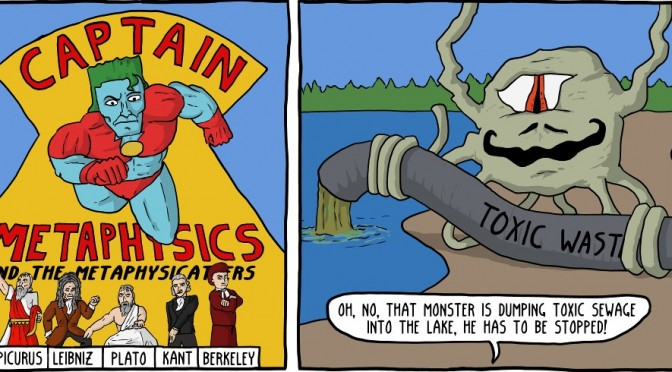 Captain Metaphysics and the Mereological Monster [Comic]
