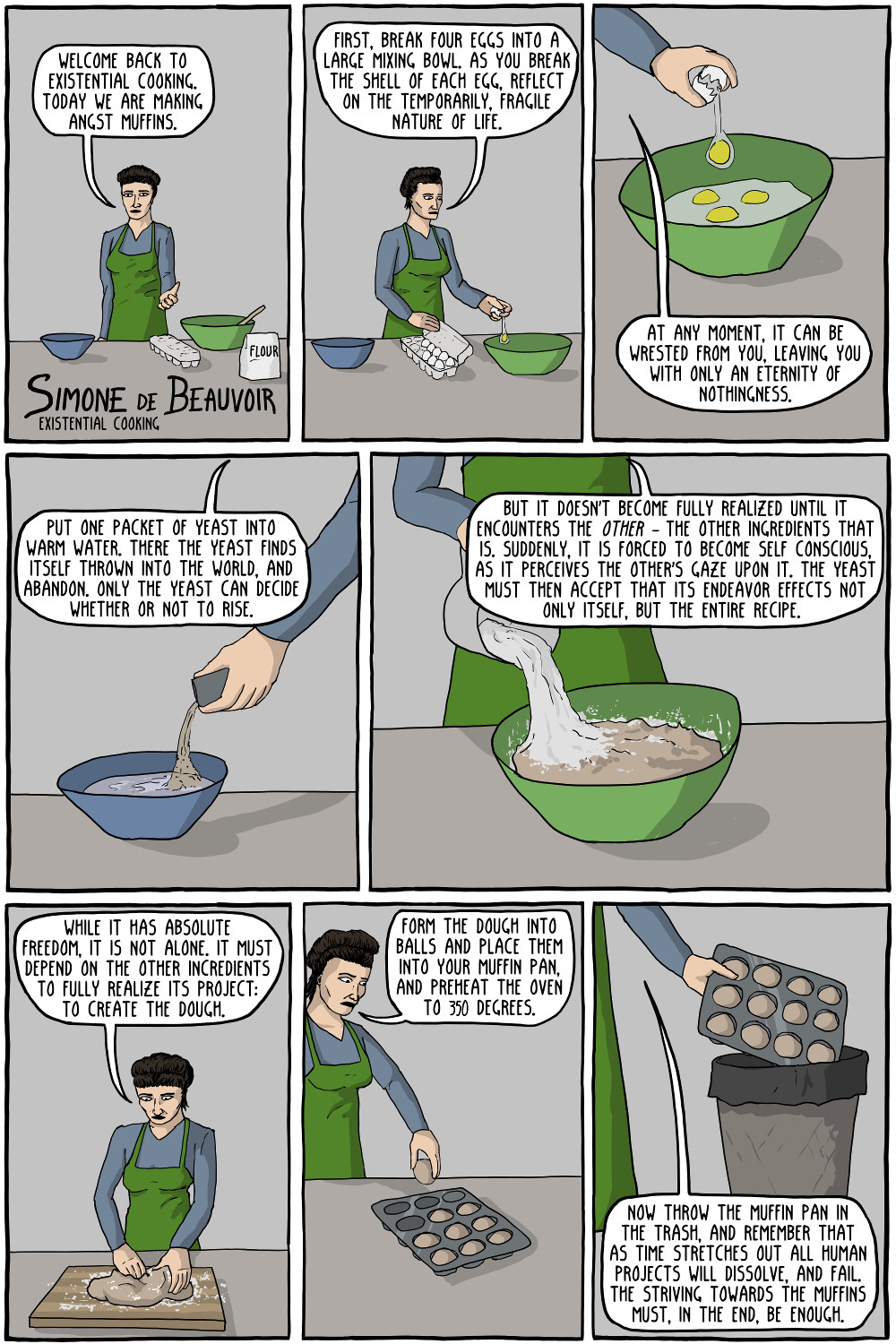 existentialCooking beauvoir 1