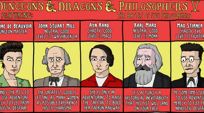 Dungeons & Dragons & Philosophy: Part 5 [Comic]