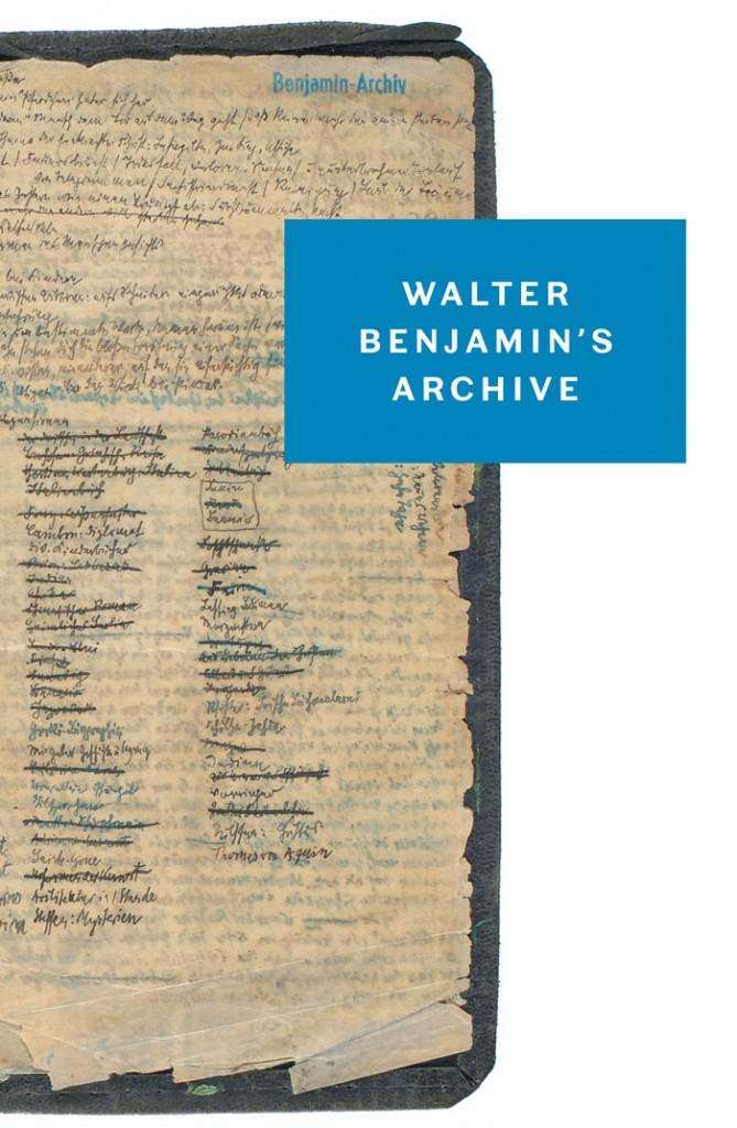 walter benjamin archive