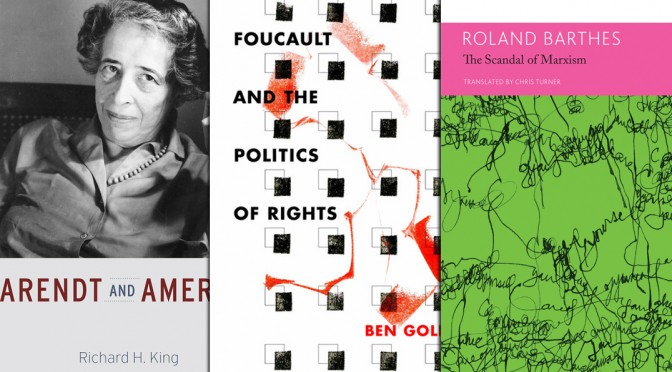 october 2015 critical theory books