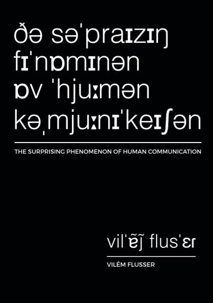 human communication flusser