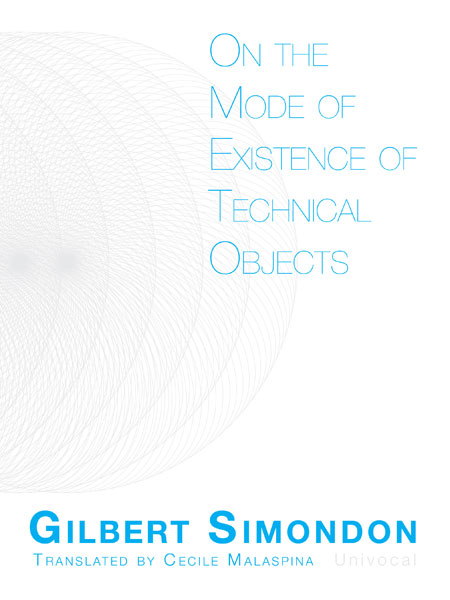 modes of existence of technical objects