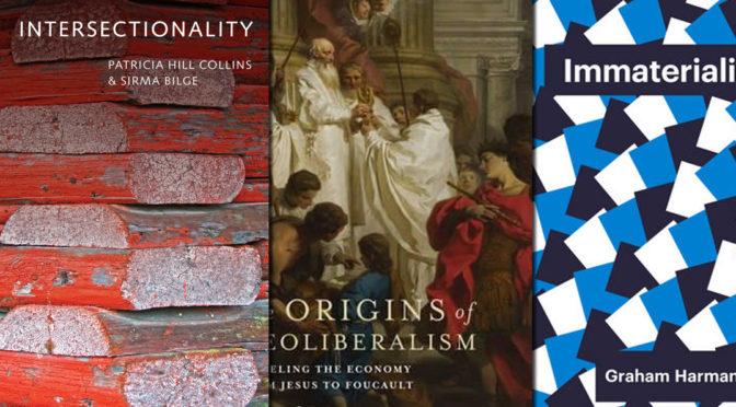 June 2016 Critical Theory Books