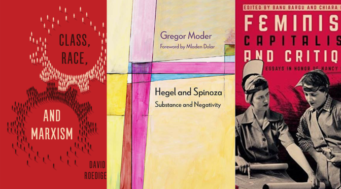5 Critical Theory Books That Came Out in July, 2017