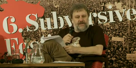 Slavoj Zizek Wants to Tell You a Dirty Joke