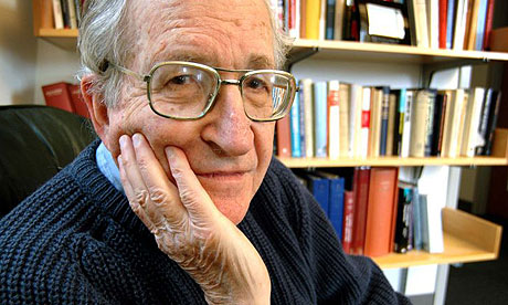 Watch Noam Chomsky Attack Foucault's 'Regimes of Truth' in 2011 Q&A