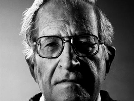 Watch Noam Chomsky Set 9/11 Truther Straight