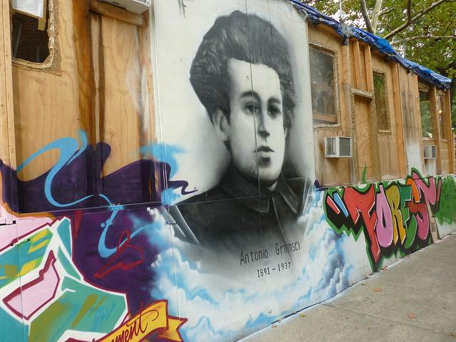 gramsci monument portrait