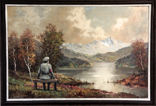 Check Out Banksy's Latest Arendt-Inspired Painting