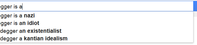 The Greatest Philosopher of Them All, According to Google
