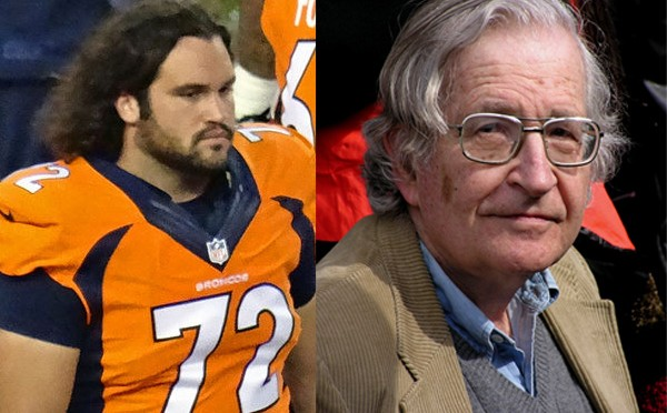 NFL Player Quits Because, You Know, Noam Chomsky