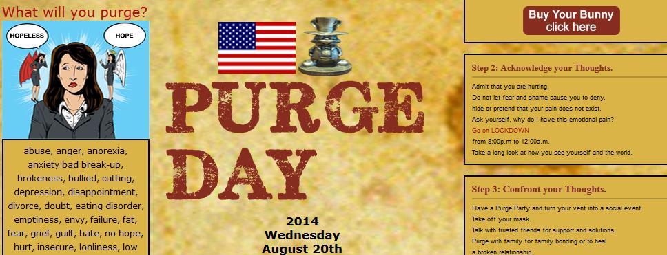 purge day