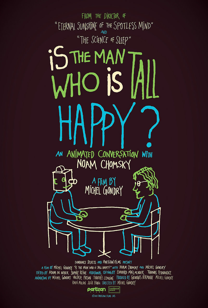 the man who is tall happy chomsky