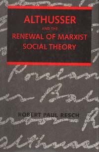 althusser renewal of marxist social theory
