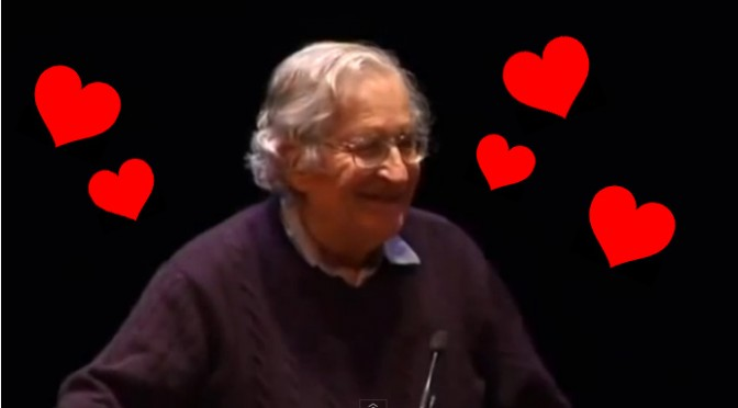 Noam Chomsky Gets Emailed for Anarchist Dating Tips All the Time