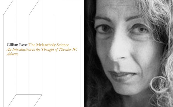 Free Read: 'The Melancholy Science' by Gillian Rose