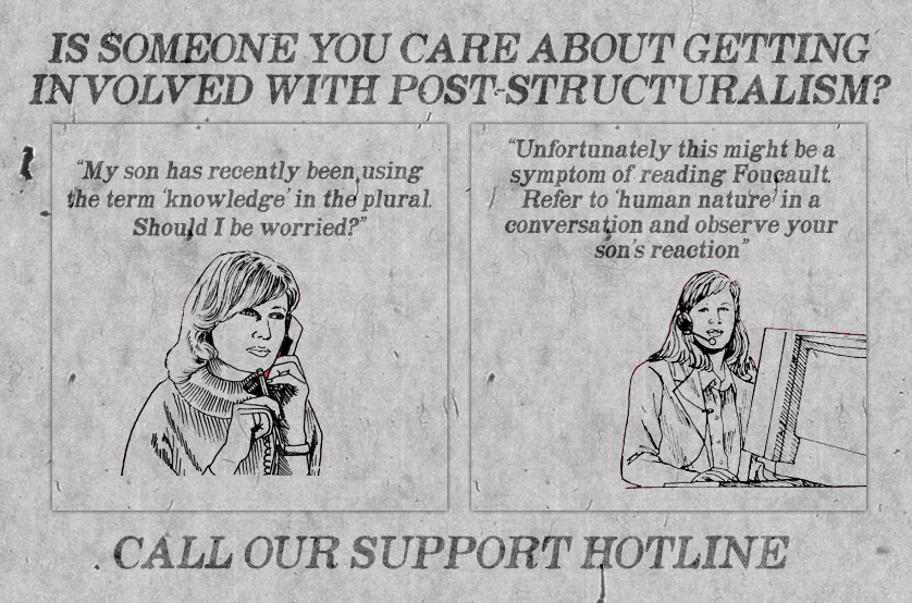 poststucturalism comic