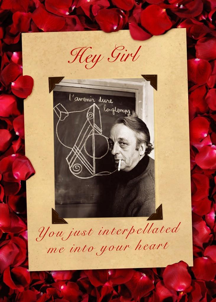 Althusser Valentine Card Interpellation