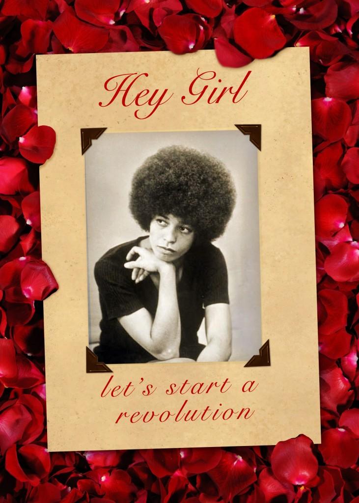 Angela Davis Valentine Card