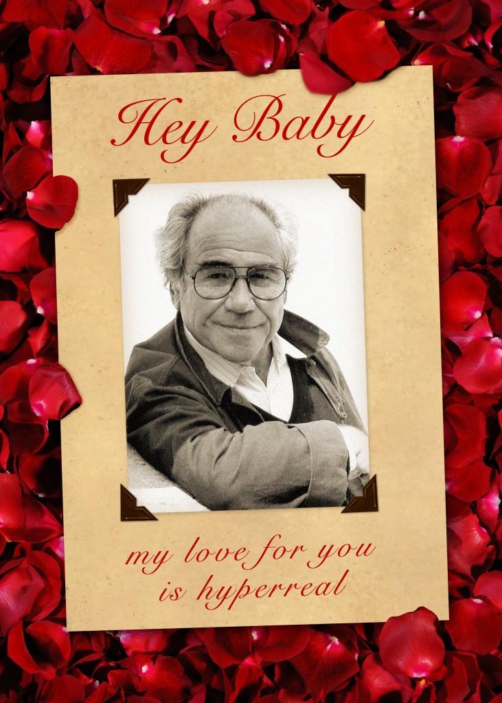 Baudrillard Valentine Card