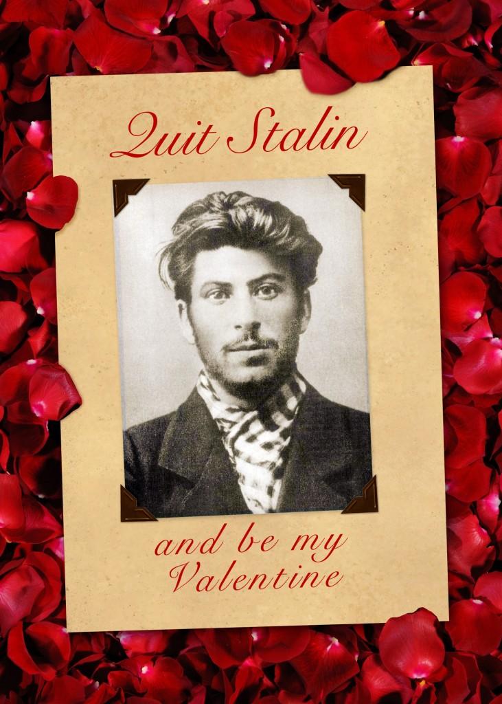 Stalin Valentine Card