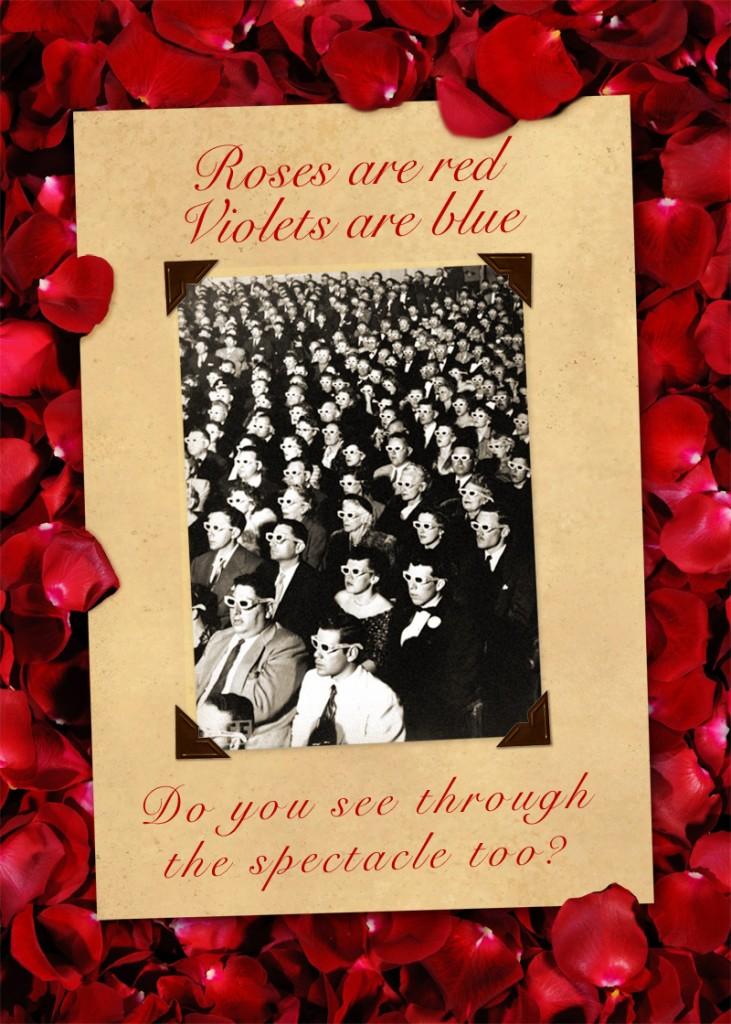 guy debord spectacle valentine card
