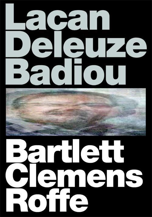 lacan deleuze badiou book