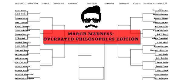 March Madness: The Overrated Philosophers Bracket