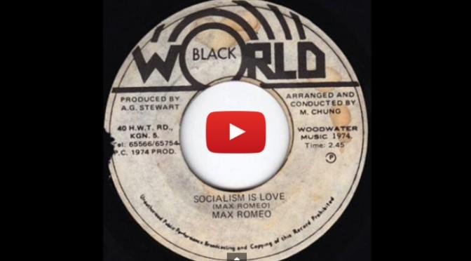 Weekend Listen: Socialism is Love