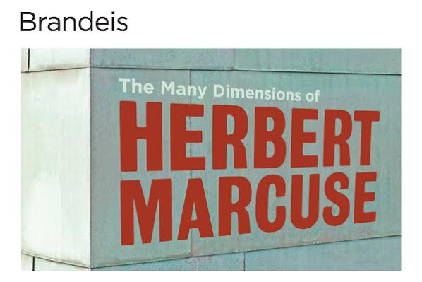 herbert marcuse conference