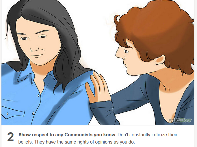 how to have a communist friend
