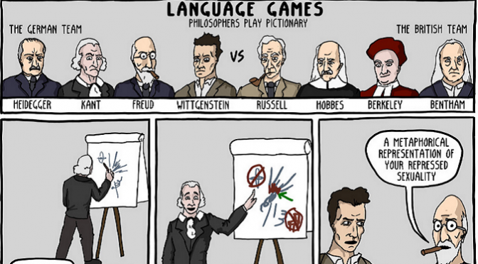 8 Philosophers Play Pictionary, You'll Never Guess What Happens Next [Comic]