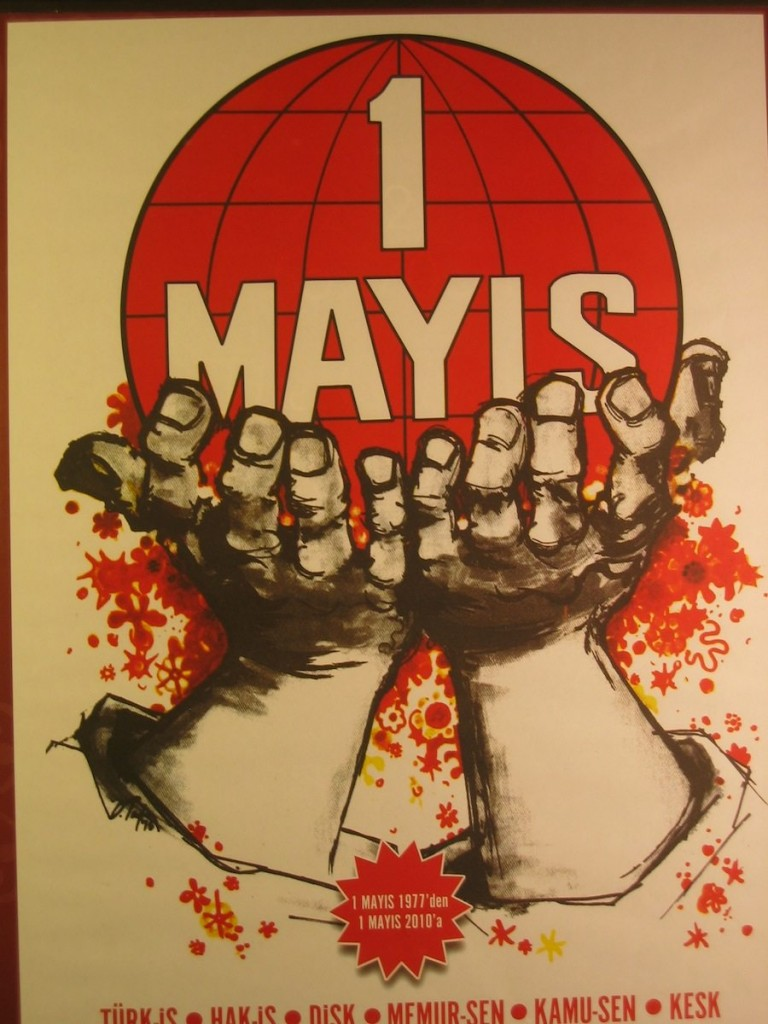 turkish may day poster