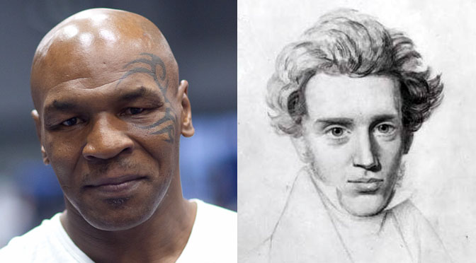 Mike Tyson Loves Kierkegaard, Says Mike Tyson