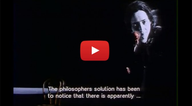 Watch Jean-Luc Godard Deliver a Monologue From Arendt's 'On the Nature of Totalitarianism'