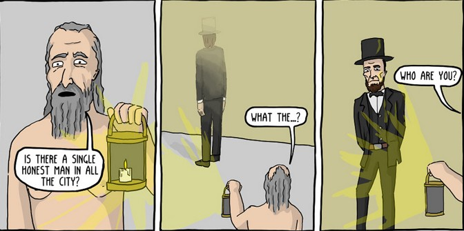 Diogenes' Lantern [Comic]