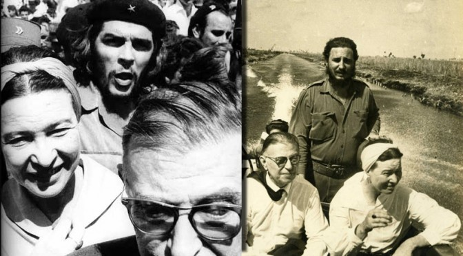 Incredible Candid Photos of Jean-Paul Sartre and Simone de Beauvoir in Cuba