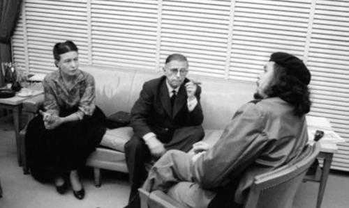 sartre beauvoir and che in cuba 3