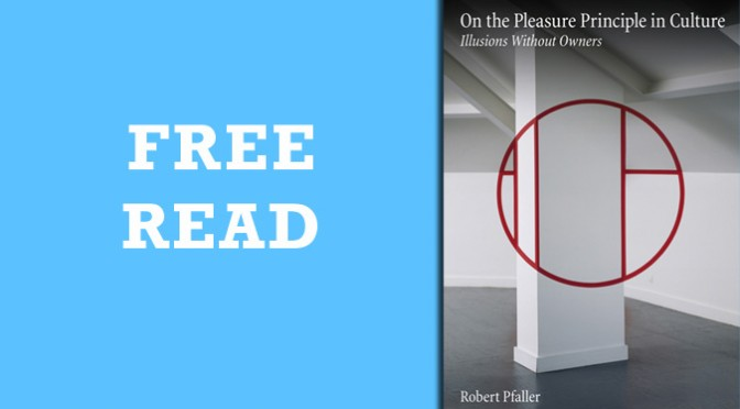 Free Read: Interpassivity: Fleeing from Enjoyment, and the Objective Illusion