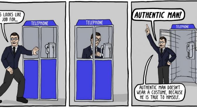 The Adventures of Authentic Man [Comic]