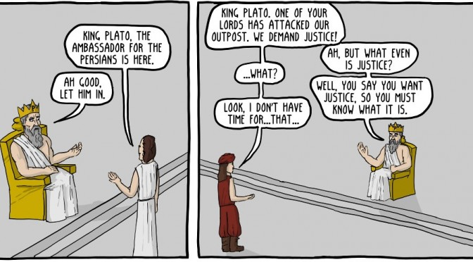 Philosopher Kings: A Terrible Idea [Comic]