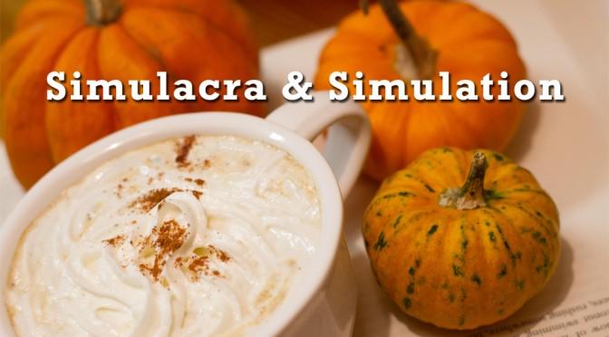 Understanding Jean Baudrillard with Pumpkin Spice Lattes